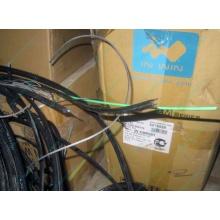 Оптический кабель Б/У для внешней прокладки (с металлическим тросом) в Прокопьевске, оптокабель БУ (Прокопьевск)