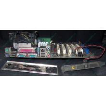 Материнская плата Asus P4PE (FireWire) с процессором Intel Pentium-4 2.4GHz s.478 и памятью 768Mb DDR1 Б/У (Прокопьевск)